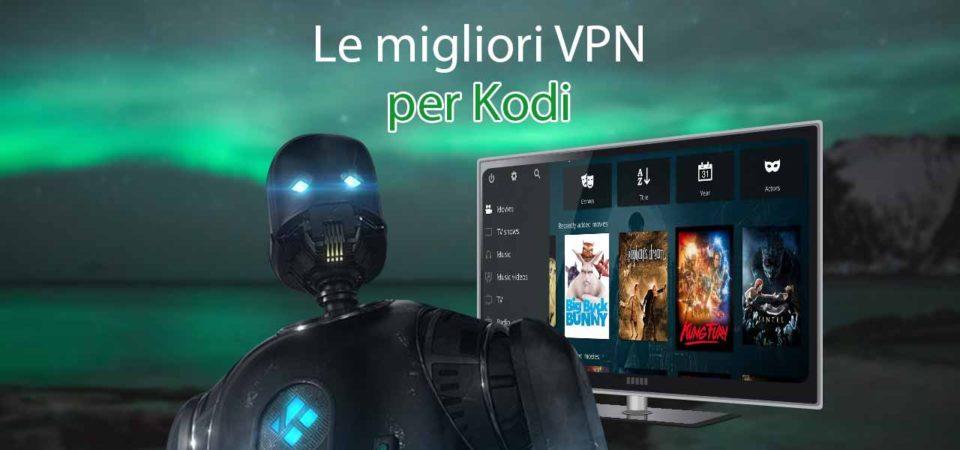 Le migliori VPN per Kodi