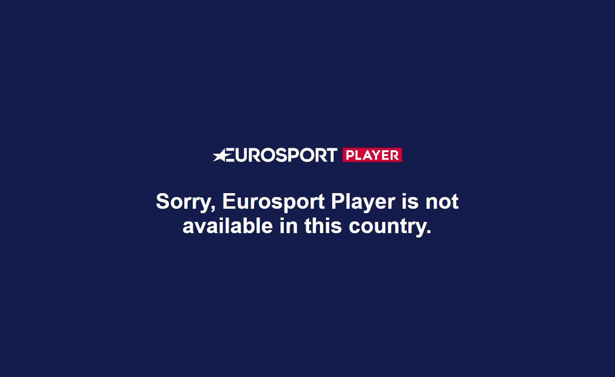 non ha accesso a Eurosport dall'estero