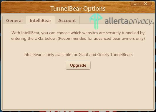 tunnelbear intellibear