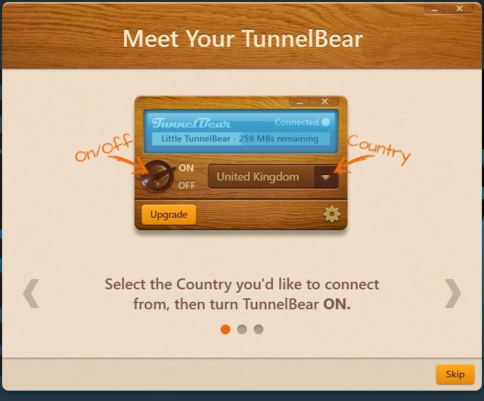Recensione di TunnelBear VPN