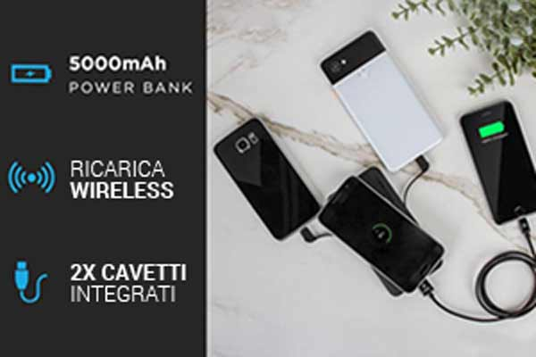 caricabatterie wireless benefici