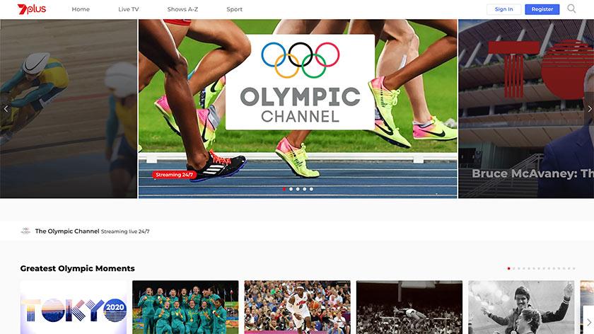 7plus olympics
