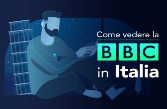 Come vedere la BBC in Italia in streaming