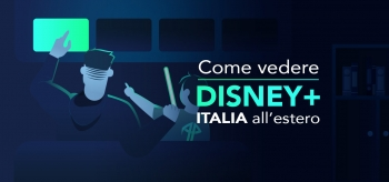 Come vedere Disney Plus Italia all'estero