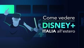 Come vedere Disney Plus Italia all'estero