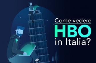 Come vedere HBO Italia nel 2020