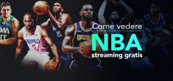Come vedere NBA streaming gratis?