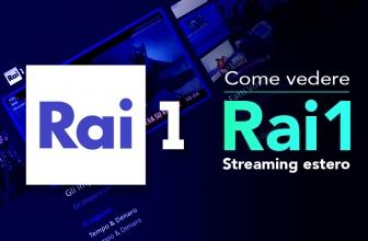 Come vedere Rai1 streaming estero